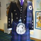 7 in 1 Pride of Scotland Tartan Kilt 46 Waist Size deal with Prince Charlie English Jacket