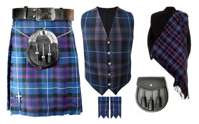 Waist 36 Traditional Scottish Pride of Scotland kilt-Skirt Deal Kilt Deal