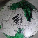 Adidas KRASAVA FIFA Confederations Cup Russia 2017 Replica Soccer Ball white & green