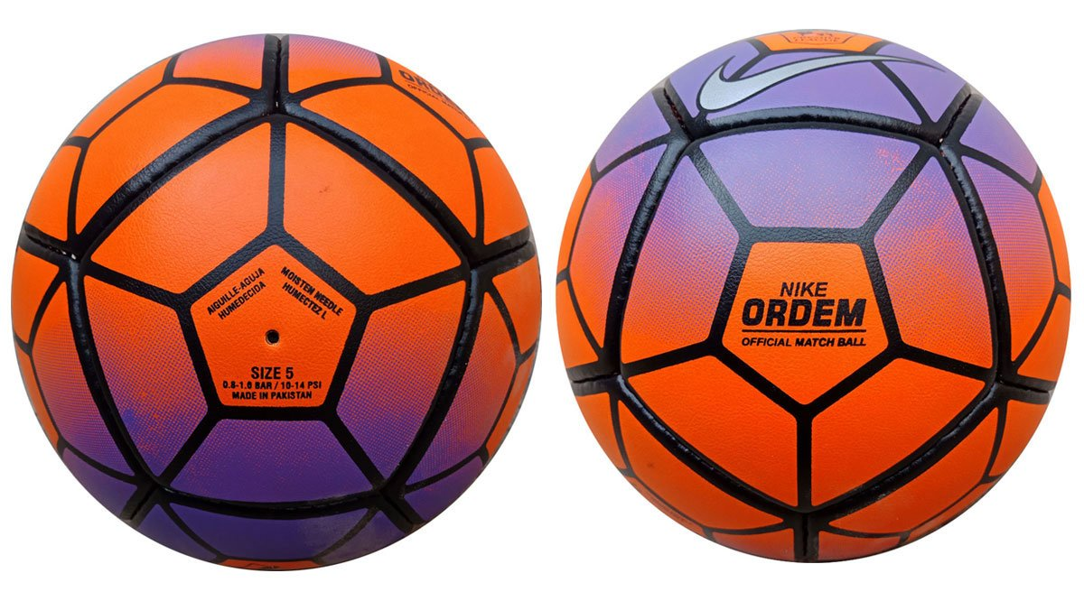 2 Balls In One's Price Nike Ordem 3 Premier League Official Match Replica Soccer Ball Size 5