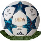 Adidas Champions League Finale 17 Cardiff Official Replica Match Football - Size 5 - White/Blue/Cyan