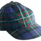 Tartan Plaid Woolen Fabric Baseball Cap Golf Cap in Scottish Pride of Scotland Tartan Polo Cap Hat
