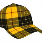 Tartan Plaid Woolen Fabric Baseball Cap Golf Cap in Scottish Macleod of Lewis Tartan Polo Cap Hat
