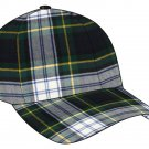 Tartan Plaid Woolen Fabric Baseball Cap Golf Cap in Scottish Dress Gordon Tartan Polo Cap Hat