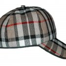 Tartan Plaid Woolen Fabric Baseball Cap Golf Cap in Scottish Camel Thomson Tartan Polo Cap Hat