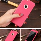 New iPhone 6 Rose Luxury Hybrid Tempered Glass Acrylic Hard Case Cover