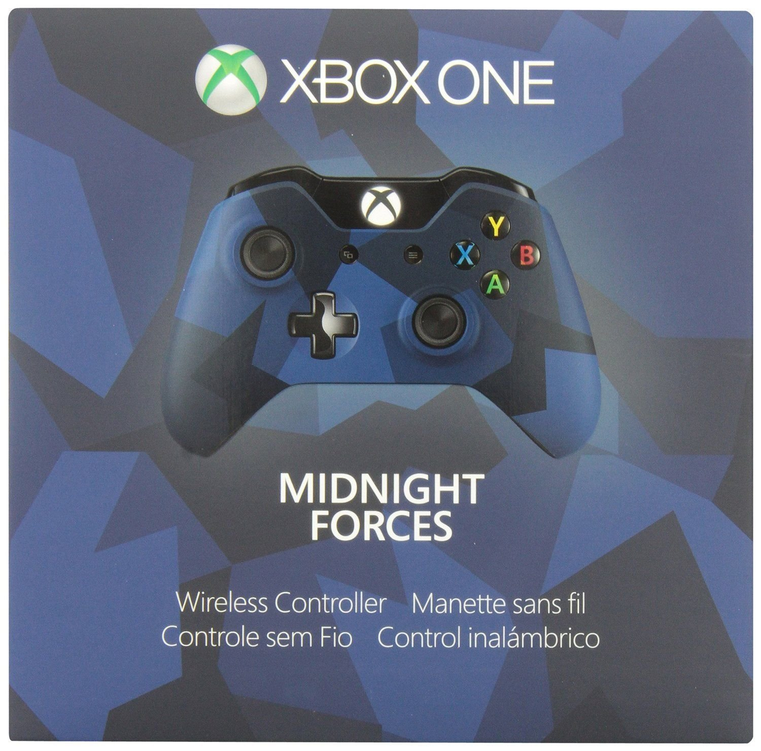 Xbox One Special Edition Midnight Forces Wireless Controller ...