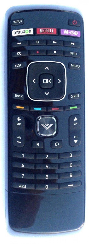 New Vizio XRT112 LED Smart Internet Apps TV Remote with Amazon, Netflix & M-GO Keys