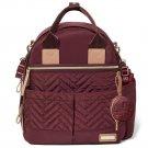 Skip Hop Suite 6 Piece Backpack Diaper Bag Set - Merlot