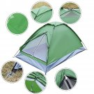 Waterproof 2 Person Camping Tent Traveling Outdoor Hiking Double Layer Backpack