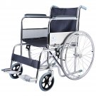 Goplus 24'' Lightweight Foldable Folding Wheelchair w/ Footrest FDA Approved New