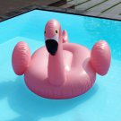 Giant Inflatable Leisure Flamingo Swan Rideable Float Swimming Pool Celebrity