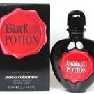 Black XS POTION Limited Edition Paco Rabanne Women 2.7 oz EDT New in Box