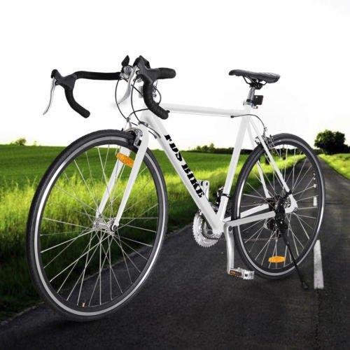White Shimano 700C 54cm Aluminum Road/Commuter Bike Racing
