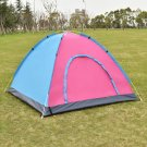 Waterproof 2-3 Person Camping Tent Traveling Outdoor Hiking Double Layer w/ Bag