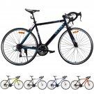 Shimano 700C 52cm Aluminum Road/Commuter Bike Bicycle 21 Speed Quick Release Orange