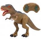BCP Remote Control T-Rex RC Walking Dinosaur Lights & Sounds Kids Toy Animal