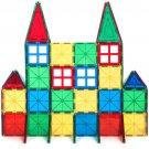 32-Piece Multi Colors Magnetic Blocks Tiles Educational 3D STEM Toy Building Set