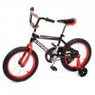 "NEW 16"""" Steel Frame Children BMX Kids Bike Bicycle With Training Wheels"