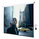 "120"""" 4:3 Electric Auto Projector Projection Screen 96""""x72"""" Remote Control"