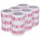 "18 Rolls Packaging Tape 2.4"""" x 110 Yards (330 ft) Box Carton Sealing Packing New"