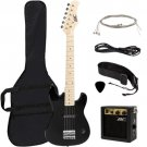 """Best Choice Products 30"""""""" Kids Electric Guitar Kit w/ 5W Amp (Black)"""