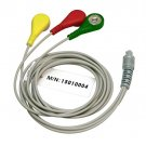 3-Lead ECG Cable Portable ECG Sensors for Heal Force Prince 80B, 80A, 180B