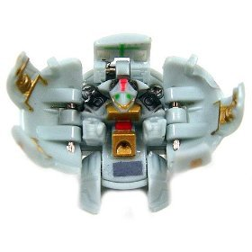 +NEW+ Bakugan Grey Laserman Figure LOOSE +FREE SHIP+