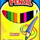 Coloring Pencils - Brand New Box of 12 Pre-Sharpened & Smooth Coloring Pencils