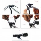 BIKE BICYCLE FLASHLIGHT TORCH PUMP SILICONE UNIVERSAL HANDLE HOLDER MOUNT, 2x PC