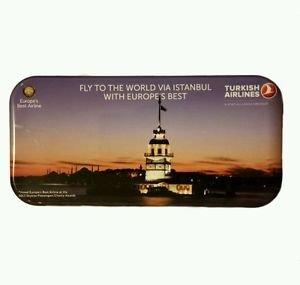 Turkish Airlines Flight Travel Amenity Tin Kit Set Collector's Edition Keepsakes
