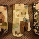 """Oven Mitt Kitchen Mitten Hot Tray Holder 100% Cotton for Baking Holiday Home 13"""""""