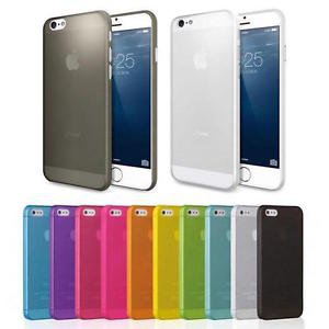 0.3mm Ultra Thin Transparent Case Covers Skin For iPhone 6 & 6 Plus - 3 Pieces!