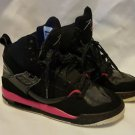 NIKE AIR JORDAN FLIGHT 45 384520-006 BLACK-PINK 4.5Y SHOES