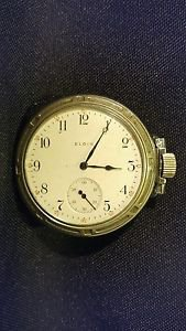 Elgin Pocket Watch Steam Locomotive