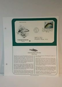 1996 Endangered Species Lot of 5, 1ST Day Issue
