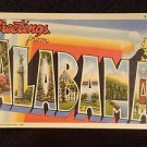VINTAGE  POSTCARD GREETINGS FROM ALABAMA