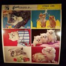 VINTAGE SALESMAN SAMPLE SHEET POSTCARDS...KITTENS 18