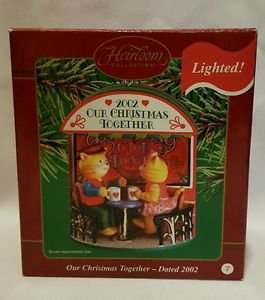 Carlton Cards Heirloom Ornament 2002 OUR CHRISTMAS TOGETHER jp