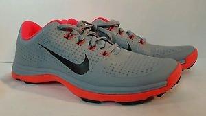 Nike Lunar Cypress Golf Shoes Dove Grey/Brt Crimson 10  652522