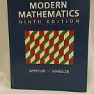 Modern Mathematics ninth edition Wheeler Wheeler