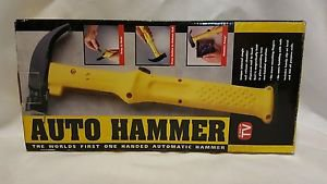 AUTOMATIC HAMMER AS SEEN ON TV YELLOW
