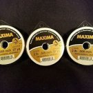 Maxima Clear 2 lbs 27yds Leader Material Fishing Line 3 PACK