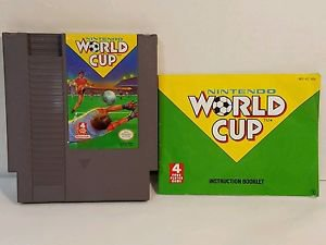 WORLD CUP with manual NES NINTENDO ENTERTAINMENT SYSTEM