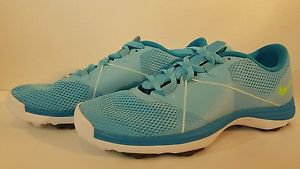 Nike Women's Summer Lite II Golf Shoes NEW Womens size 7, CLRWTR/FISH LM WHO BL