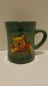 Winnie the Pooh in Hole 16oz. WALT DISNEY 3D Raised Coffee Mug Cup