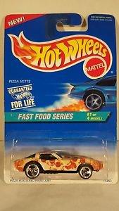 Hot Wheels FAST FOOD SERIES PIZZA VETTE