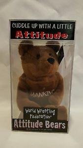 """TY Beanie WWF """"MANKIND"""""""