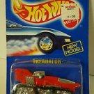 Hot Wheels TREADATOR 205 red