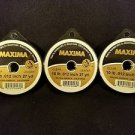 Maxima Clear 10 lbs 27yds Leader Material Fishing Line 3 PACK